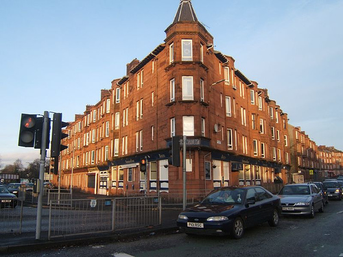 1901 Haggs Road Pollokshaws Road Glasgow May 2011