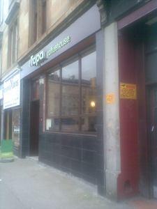 Tapa Coffeehouse, Pollokshaws Road, Glasgow  August 2008