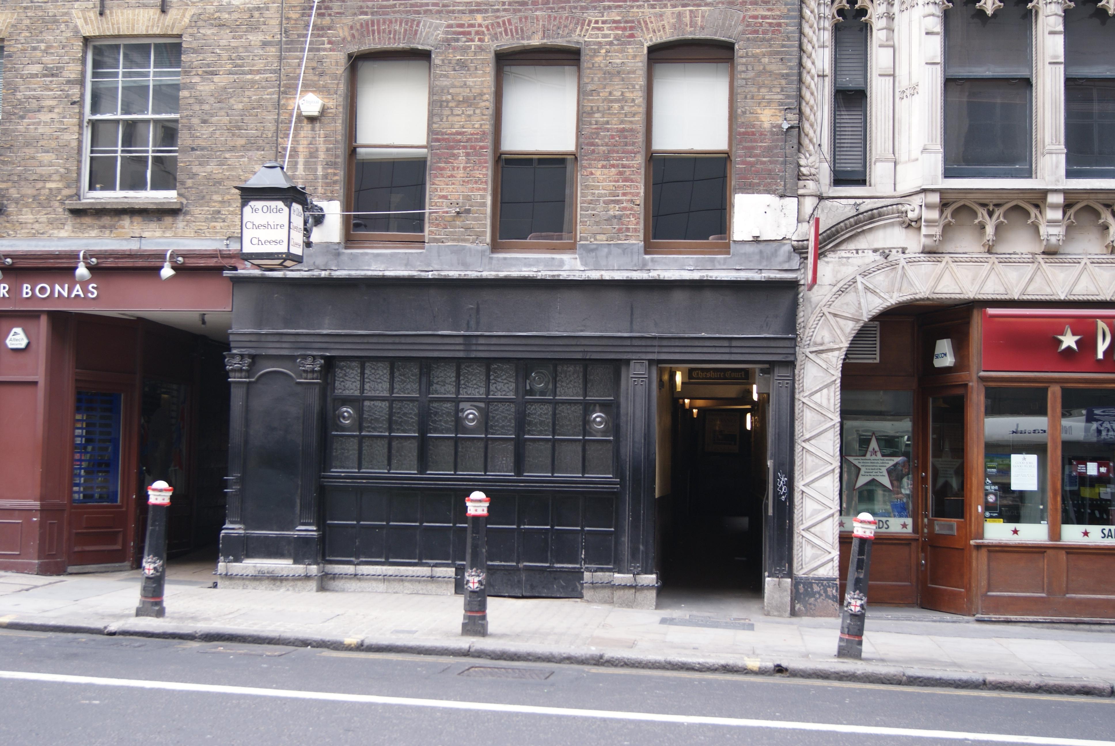 Ye Olde Cheshire Cheese 145 Fleet Street London April 2011 Foodie Explorers